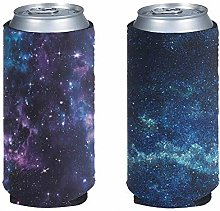Pizding Galaxy Can Cooler Coozie Sleeve Blank for