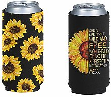 Pizding Party Girl Slim Can Cooler Sleeves -