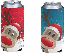 Pizding Standard Can Cooler 2 Pack, Adorable