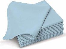 Pizuna Soft Absorbent Small Cotton Blue Fog Cloth