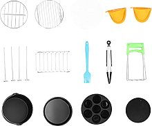Pizza Pan, Grill Rack Fryer Accessory Smooth for