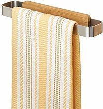 PJC Stainless Steel Towel Rail - No Drilling