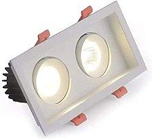 PJDOOJAE Double-headed Spotlight Embedded 10W LED