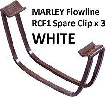 PK F 4 X RCF1W (White) Marley Flowline Spare Clip