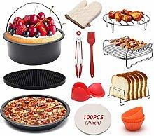 Pkfinrd 12Pcs Air Fryer Accessories Baking Cake