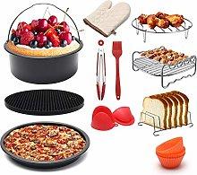 Pkfinrd WLKQ 12 Pcs Air Fryer Accessories, Pizza