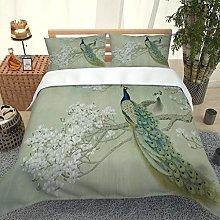 PKTMK Bedding Duvet Cover with 2 Pillowcases