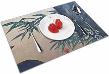 Place Mats Handmade Placemats Japanese Gold Leaf