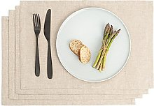 Place Mats Home - Dining Table Mats Set Of 4 -