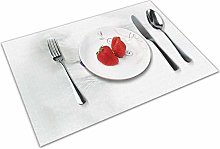 Place Mats Placemats Cat Baby, Cat, White,