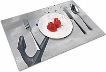 Place Mats Table Mat Birds Turns Into Group of