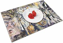 Place Mats Table Mat Still Life of Flowers Table
