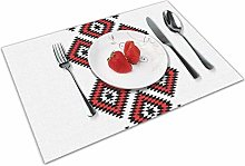 Place Mats Table Mat Tribal Native American Style
