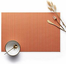 Place Matspvc Table Mat 2pcs/1 Sets