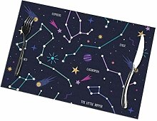Placemat Astronomical Constellation Placemats