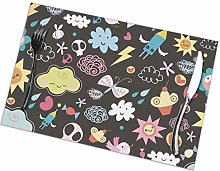 Placemat Cute World Placemats Table Mats Spring