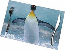 Placemat Happy Penguin (2) Placemats Table Mats