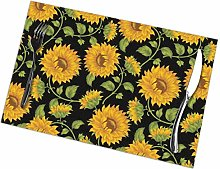 Placemat Pretty Sunflower Placemats Table Mats