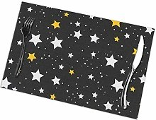 Placemat Stars Night Sky Placemats Table Mats