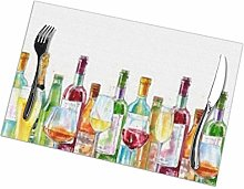 Placemat Variety Wines Placemats Table Mats Spring