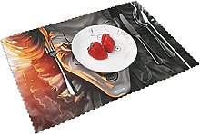 Placemats Clown Pennywis-e Table Mat Washable