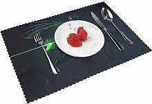 Placemats Genj-i Table Mat Washable Reusable