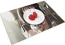 Placemats Leo-n Table Mat Washable Reusable