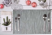 Placemats Set of 6 Easy-to-clean Indoor Outdoor