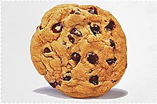 Placemats Set of 6 PVC Chocolate Cookie Dining