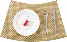 Placemats, Table Mats Set,Anti Slip Table Place