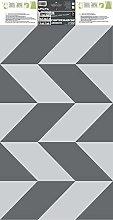 PLAGE 197071 Stairs Stickers - Tolentino, Grey (19