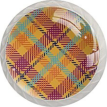 Plaid Fabric Patterns Seamless, Modern Minimalist