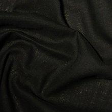 Plain Black Faux Silk Fire Retardant Upholstery