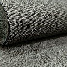 Plain Charcoal Black Dark Grey Textured Vinyl
