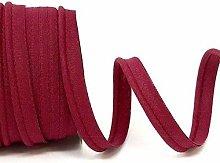 Plain Colour 10mm Wide Piping Bias Binding