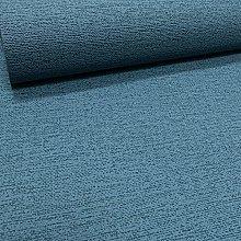 Plain Dark Blue Textured Heavy Vinyl Paste The