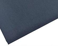 Plain Denim Blue Fabric - 45 inch / 112 cm Wide -