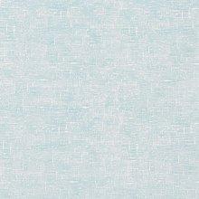 Plain Duck Egg Linen Effect Matte Finish Oilcloth