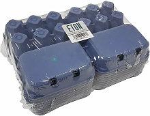 Plain Egg Box (Pack of 20) (One Size) (Blue) - Eton