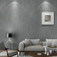 Plain Light Grey Linen Cloth Effect Textured Vinyl