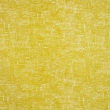 Plain Mustard Yellow Linen Matte Finish Oilcloth