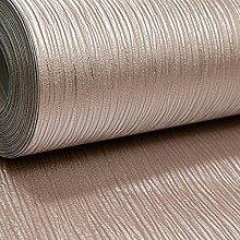 Plain Rose Gold Cassiel Textured Metallic Shimmer