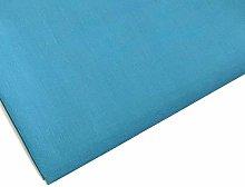 Plain Teal Polycotton Fabric - 45 inch / 112 cm