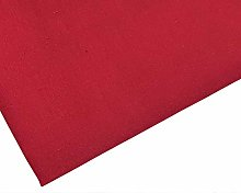 Plain Wine Polycotton Fabric - 45 inch / 112 cm