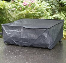 Plancha Grill Cover 78x58x24cm - Grey - Nature