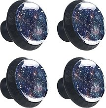 Planet and Star 4PCS Round Drawer Knob Pull Handle