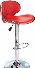 Planet Red Breakfast Bar Stool Height Adjustable