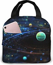 Planetary Galactic Orbits Lunch Bag Insulated