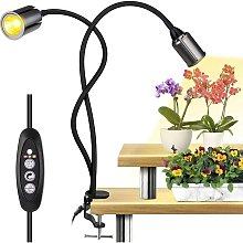 Plant Light, Timer and Automatic Plant Light On /