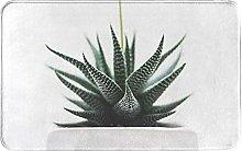 Plant Welcome Door Mat Indoor Outdoor Entrance Rug
